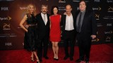 Kim Raver, Jon Cassar, Mary Lynn Rajskub, Howard Gordon, David Fury at 24: Live Another Day premiere