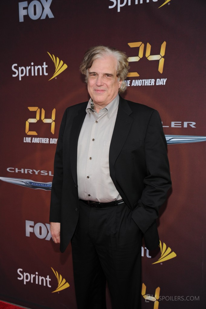 Executive Producer Robert Cochran at 24: Live Another Day premiere screening
