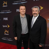 Sean Callery and Jon Cassar at 24: Live Another Day premiere in NYC