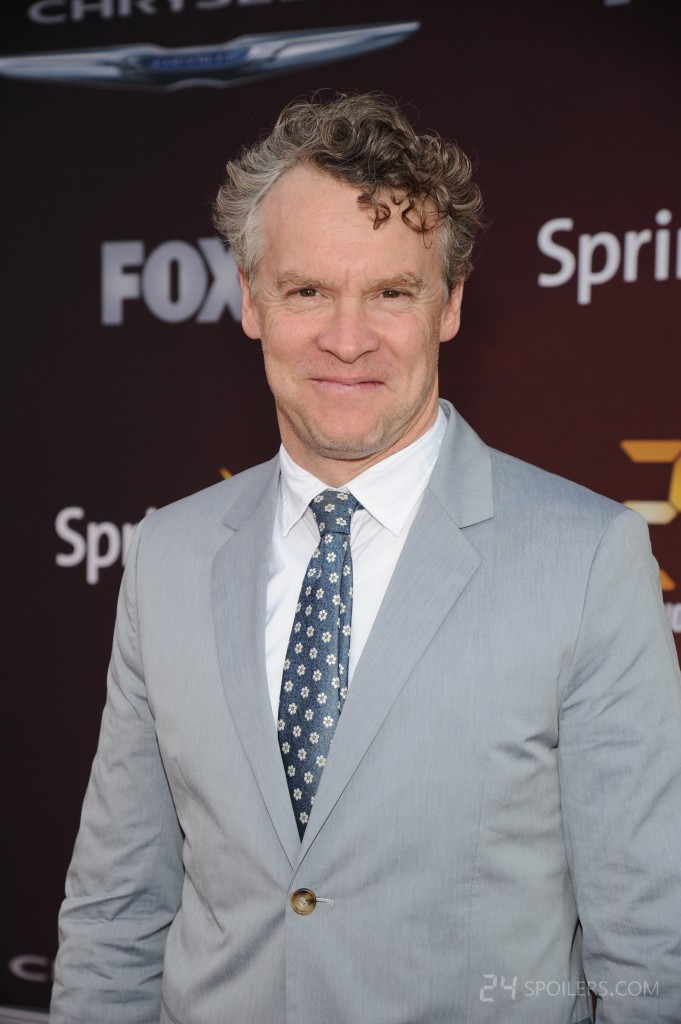 Tate Donovan at the 24: Live Another Day premiere screening in NYC