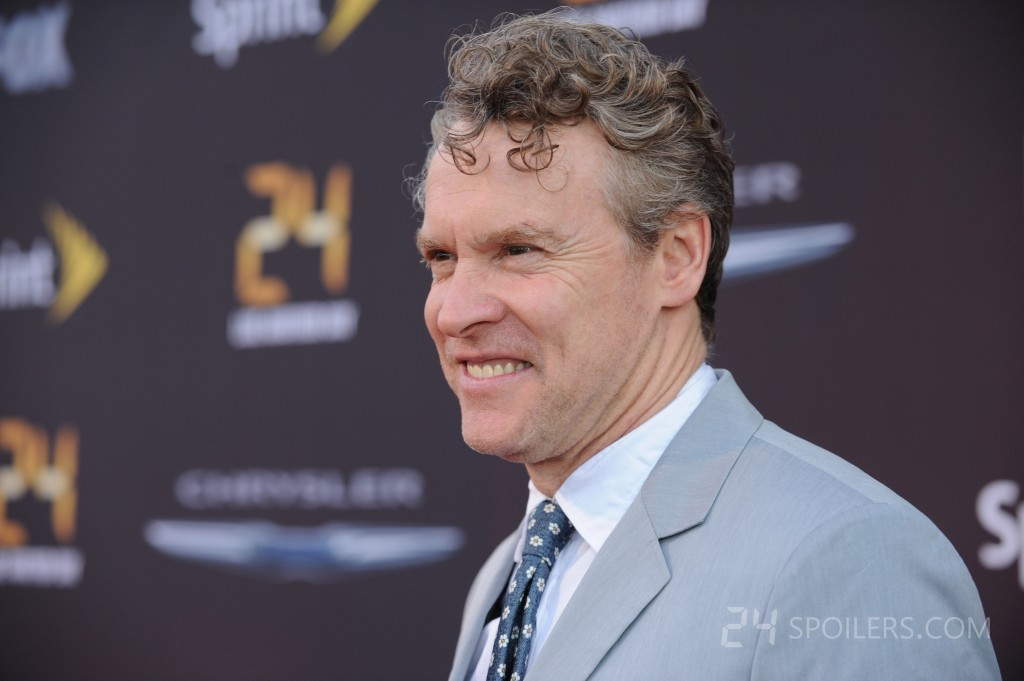 Tate Donovan attends 24: Live Another Day premiere screening in NYC