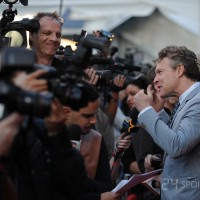 Tate Donovan interviewed at 24: Live Another Day premiere red carpet