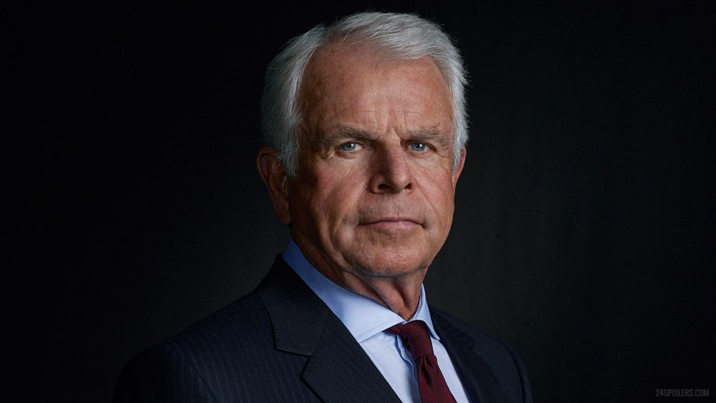 William Devane as President James Heller in 24: Live Another Day