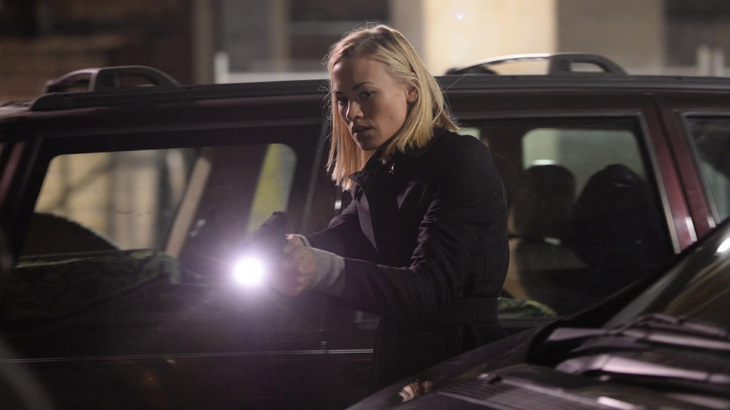 Yvonne Strahovski as Kate Morgan in the 24: Live Another Day premiere