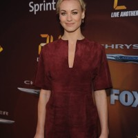 Yvonne Strahovski at the 24: Live Another Day premiere screening in NYC