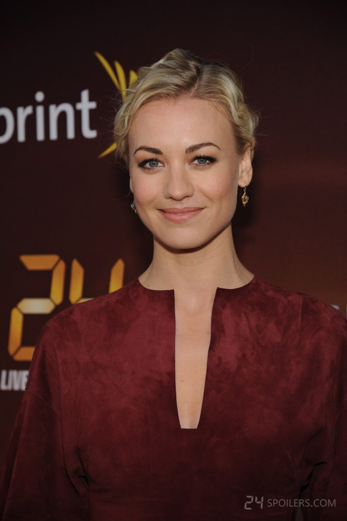 Yvonne Strahovski at 24: Live Another Day premiere screening in NYC