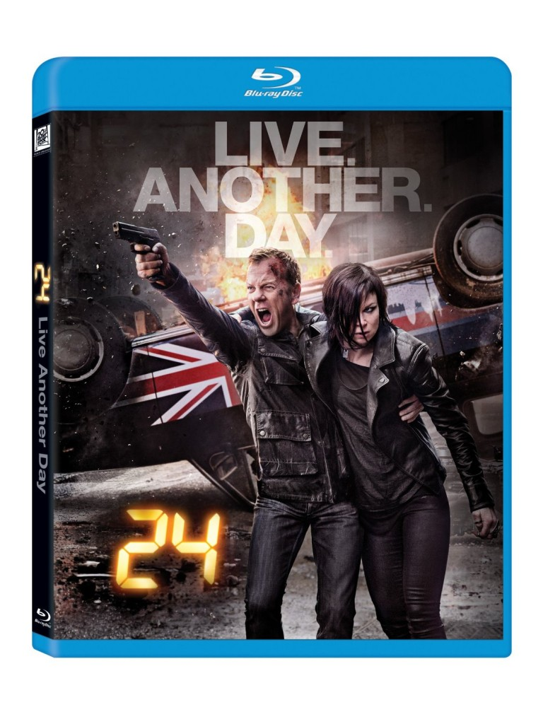24: Live Another Day Blu-Ray cover art