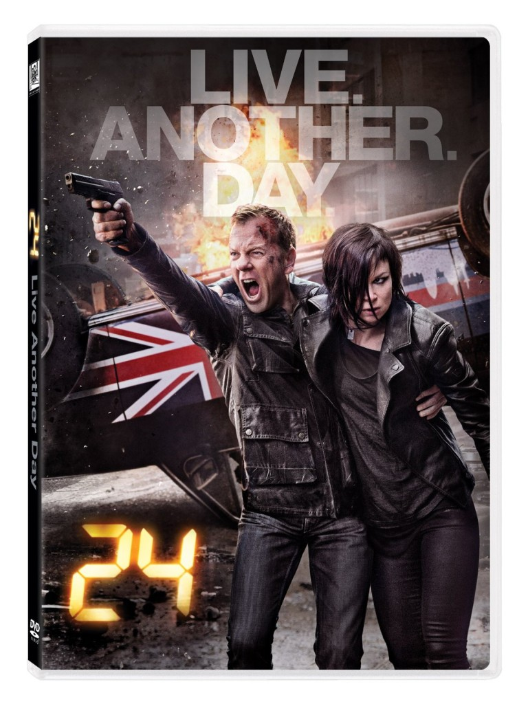 24: Live Another Day DVD cover art
