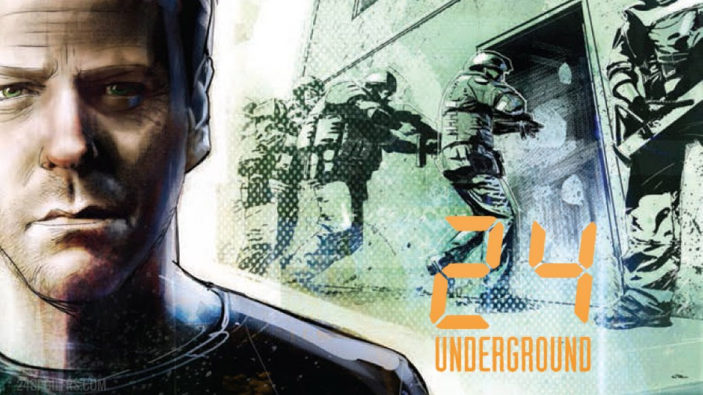 24: Underground Issue #3 by Ed Brisson