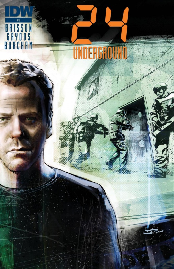 24: Underground Issue #3 Cover