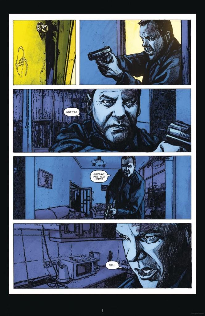 24: Underground #3 Page 1