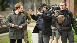 Giles Matthey and Jon Cassar BTS of 24: Live Another Day Episode 7
