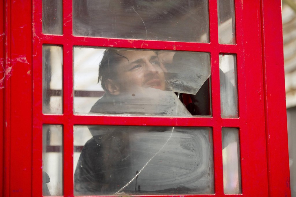 Jordan Reed (Giles Matthey) makes a call for help in 24: Live Another Day Episode 8