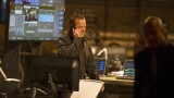 Jack Bauer (Kiefer Sutherland) returns to CIA HQ to interrogate Navarro in 24: Live Another Day Episode 10
