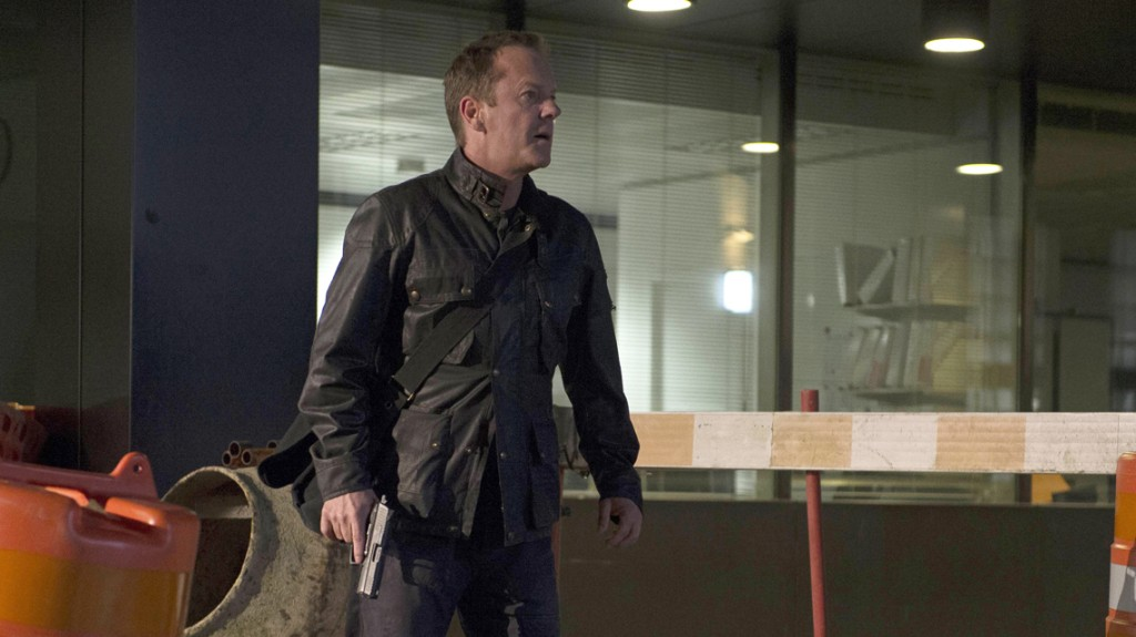 Jack Bauer (Kiefer Sutherland) chases suspect in 24: Live Another Day Episode 10