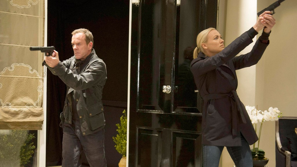 Jack Bauer and Kate Morgan in 24: Live Another Day Episode 11