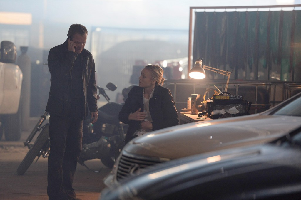 Jack Bauer and Kate Morgan receive new information in 24: Live Another Day Episode 7