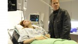 Jack Bauer interrogates Simone (Emily Berrington) in 24: Live Another Day Episode 7