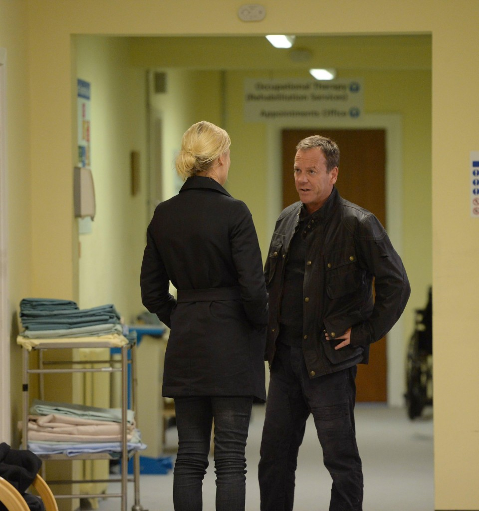 Jack Bauer and Kate Morgan protect Simone in 24: Live Another Day Episode 7