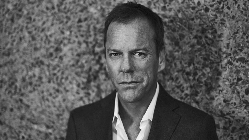 Kiefer Sutherland in Esquire July 2014 issue