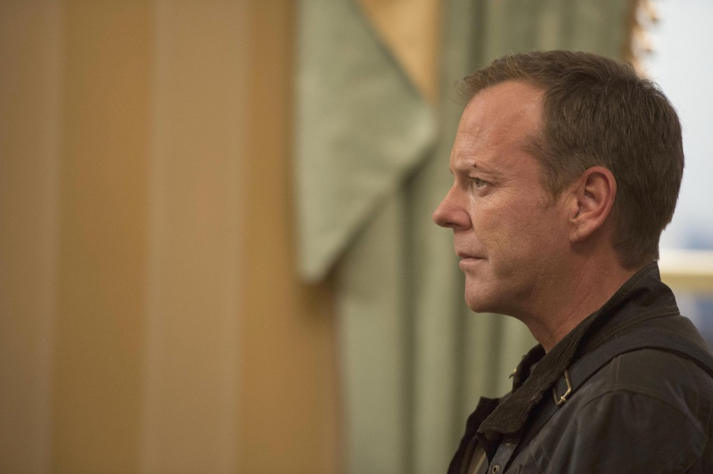 Jack Bauer (Kiefer Sutherland) is faced with a difficult decision in 24: Live Another Day Episode 8
