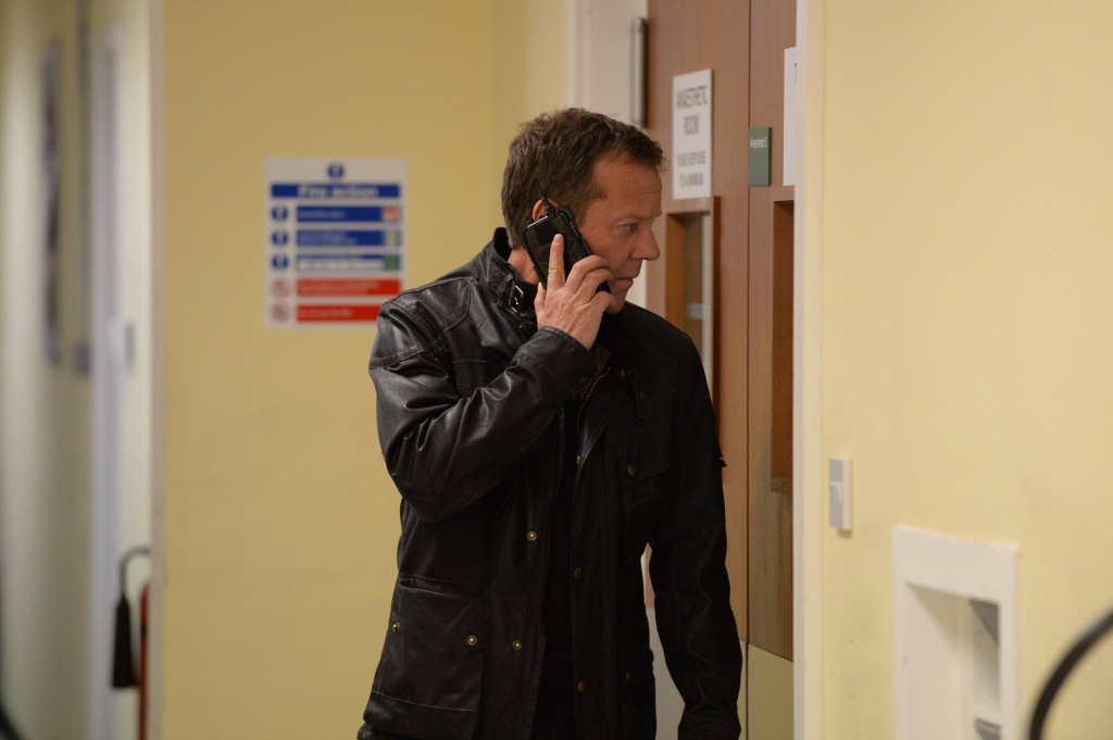 Jack Bauer (Kiefer Sutherland) finds a way to protect Simone in 24: Live Another Day Episode 7