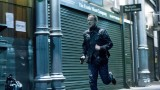 Jack Bauer (Kiefer Sutherland) chases Navarro in 24: Live Another Day Episode 10