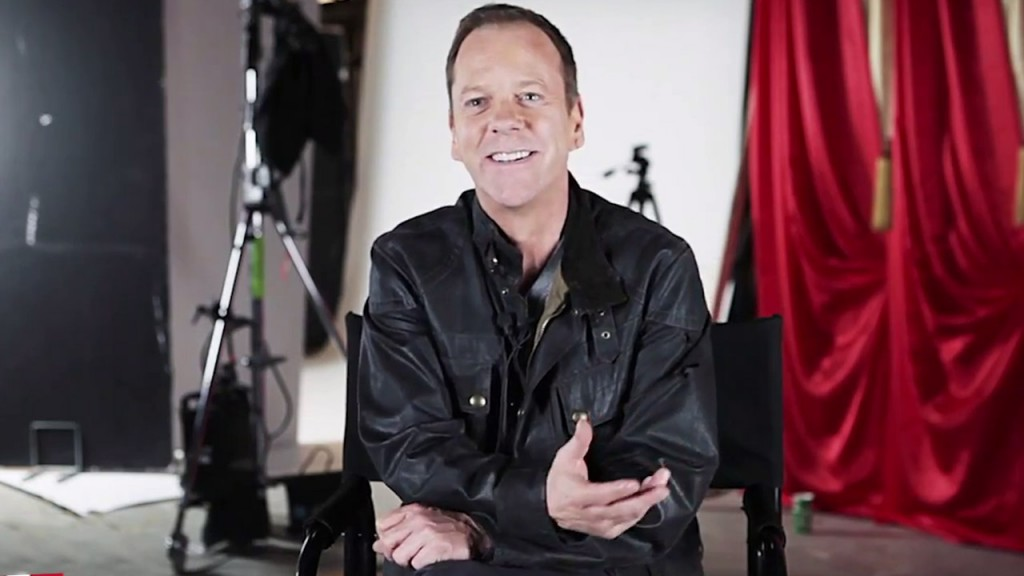 Kiefer Sutherland TV Guide Magazine video interview