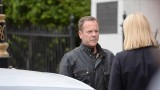 Jack Bauer( Kiefer Sutherland) makes plans with Kate Morgan (Yvonne Strahovski) in 24: Live Another Day Episode 6