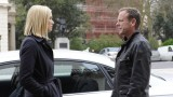 Jack Bauer (Kiefer Sutherland) discusses plans with Kate Morgan (Yvonne Strahovski) in 24: Live Another Day Episode 6
