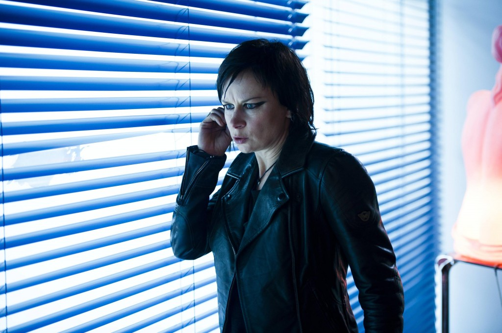 Chloe O'Brian (Mary Lynn Rajskub) discovers new information in 24: Live Another Day Episode 7