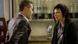 Chloe (Mary Lynn Rajskub) needs an explanation from Adrian Cross (Michael Wincott) in 24: Live Another Day Episode 10