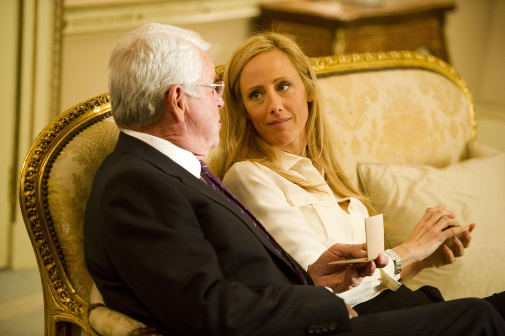 President Heller (William Devane) and Audrey (Kim Raver) spend time together in 24: Live Another Day Episode 8