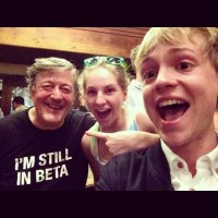 Stephen Fry at the 24: Live Another Day wrap party