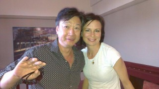 Tzi Ma and Mary Lynn Rajskub in London