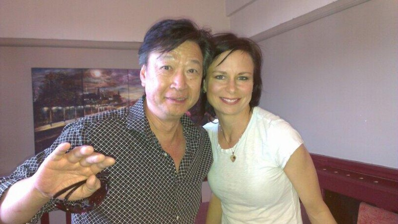 Tzi Ma and Mary Lynn Rajskub in London