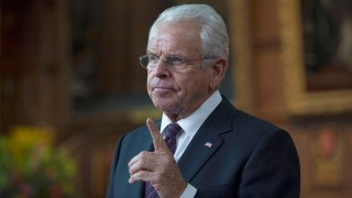 William Devane as President James Heller in 24: Live Another Day Episode 3