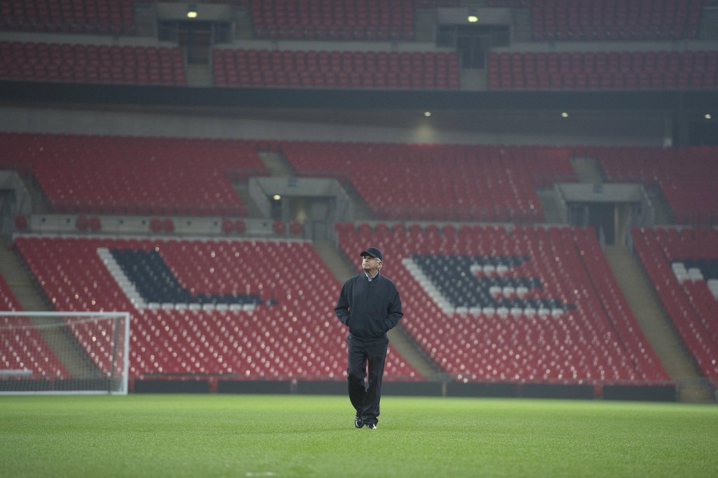 William Devane as President James Heller at Wembley Stadium in 24: Live Another Day