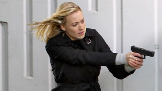 Yvonne Strahovski in action as Kate Morgan