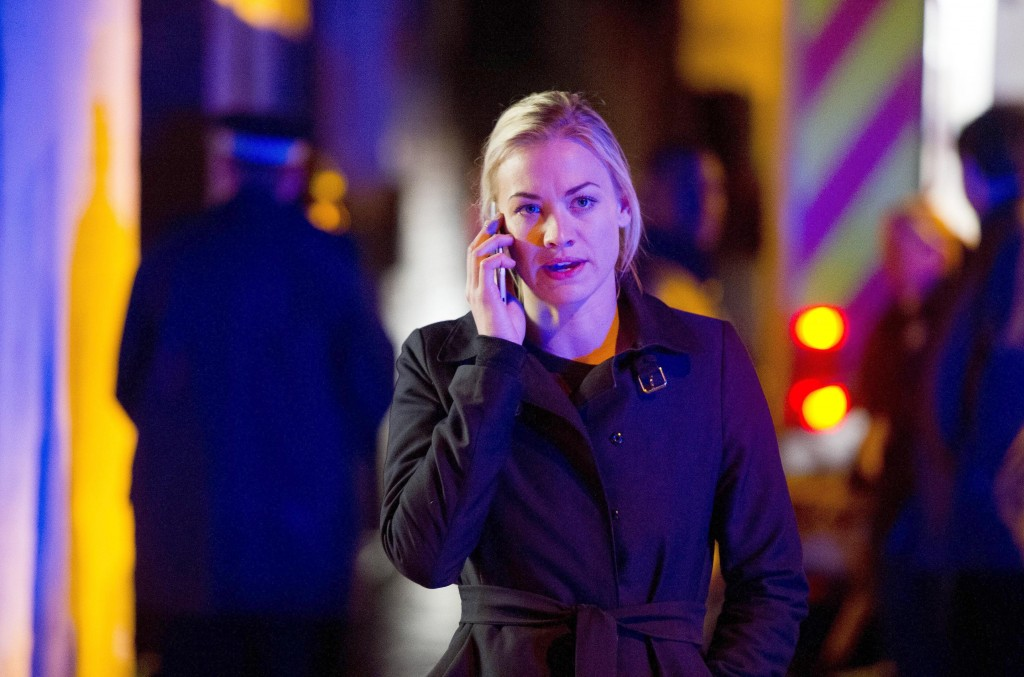 Kate Morgan (Yvonne Strahovski) tries to get answers in 24: Live Another Day Episode 9