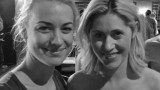 Yvonne Strahovski with her stand-in and body double Kya Garwood at 24: Live Another Day Wrap Party
