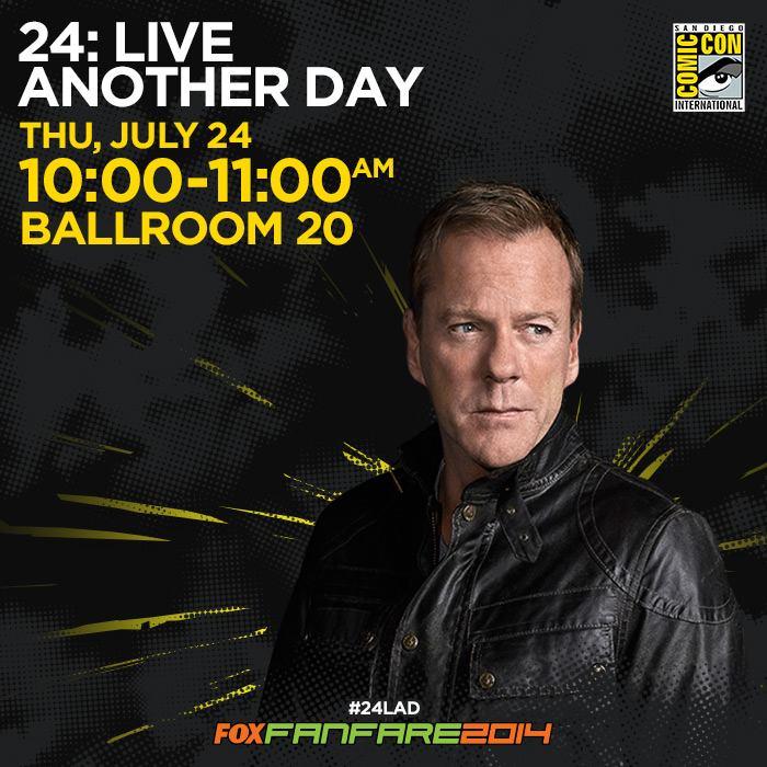 24 Panel at Comic-Con 2014