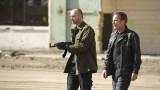 Belcheck (Branko Tomovic) protects Jack Bauer (Kiefer Sutherland) in 24: Live Another Day Finale