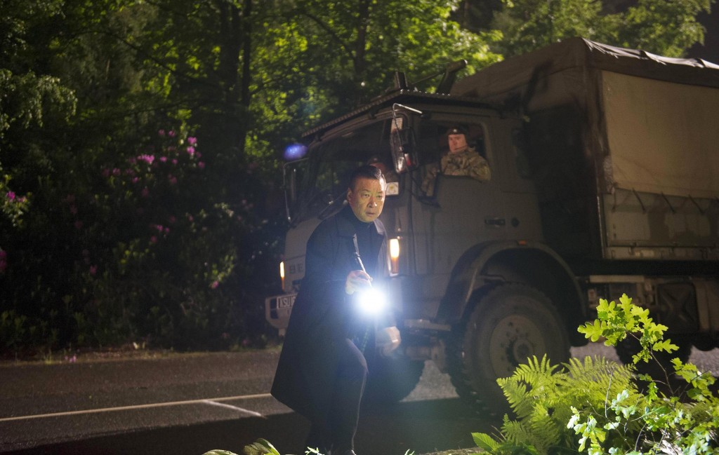 Cheng (Tzi Ma) searches for Chloe in 24: Live Another Day Episode 11