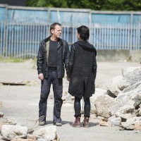 Jack Bauer (Kiefer Sutherland) and Chloe O'Brian (Mary Lynn Rajskub) share a final conversation in 24: Live Another Day Finale