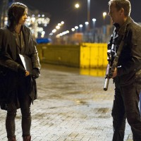 Jack Bauer (Kiefer Sutherland) and Chloe O'Brian (Mary Lynn Rajskub) hunt for Cheng in 24: Live Another Day Finale