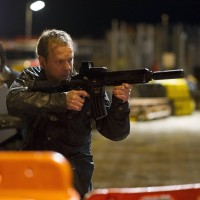 Jack Bauer (Kiefer Sutherland) goes after Cheng in 24: Live Another Day Finale