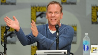 Kiefer Sutherland at the 24 Comic-Con Panel