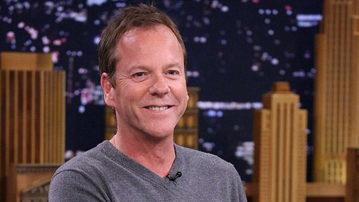 Kiefer Sutherland on Fallon July 2014