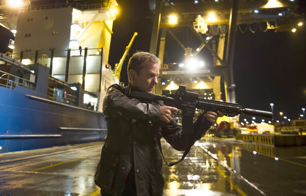 Jack Bauer (Kiefer Sutherland) hunts down Cheng in 24: Live Another Day Finale